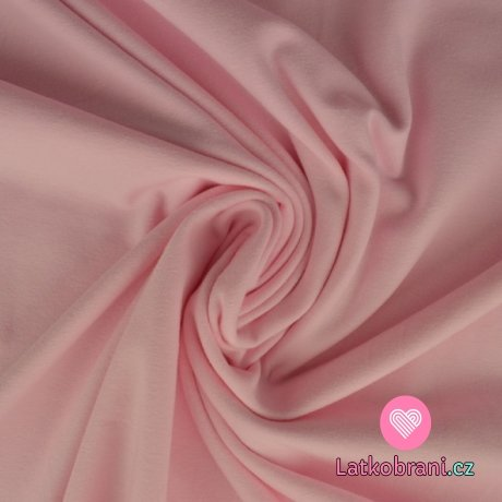 Úplet jednobarevný baby růžová