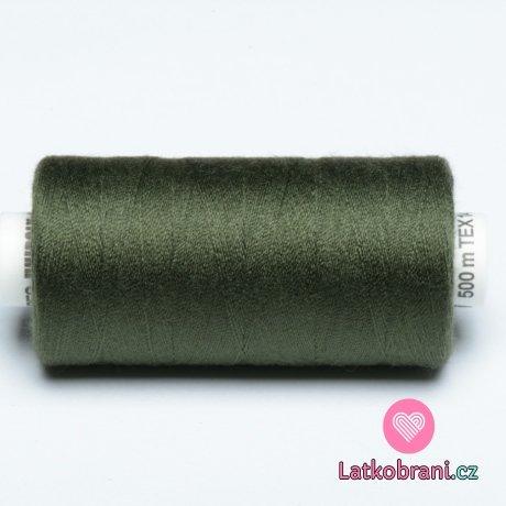 Nitě Hagal - temně olivově zelená 500m (14x2)