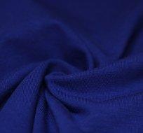 Jednobarevný úplet královsky modrý tmavější 200g
