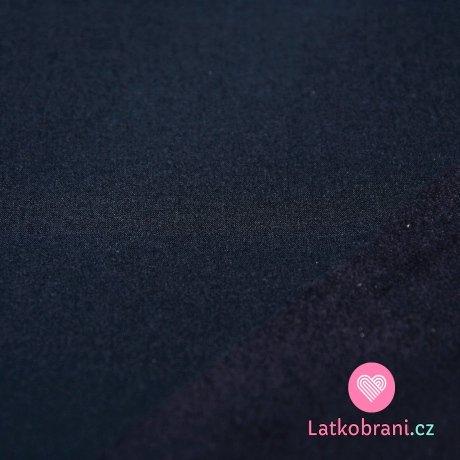 Softshell extra tmavě modrý navy s fleecem