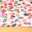 Úplet jahody na bíle