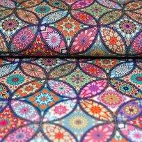 Úplet barevná mandala mozaika
