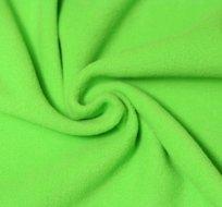 Jemný polar fleece zelená tráva antipiling