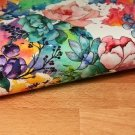 Úplet s barevnými květy, duhová zahrádka