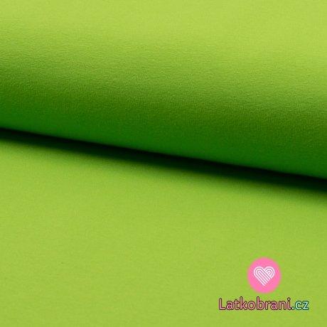 Jednobarevný úplet hrášek sytá
