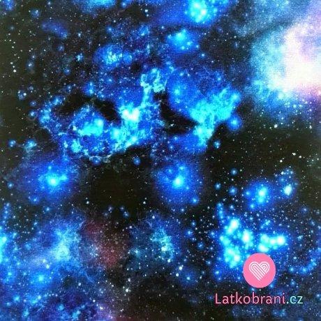 Teplákovina potisk vesmír