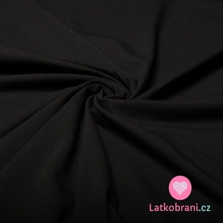 Jednobarevný úplet tmavě šedá 220 g, 180 cm šíře