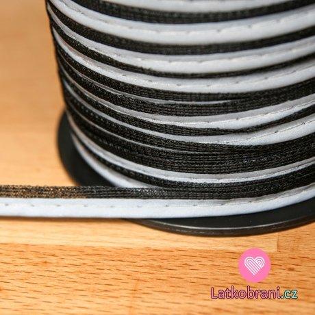 Paspulka reflexní 10 mm černá
