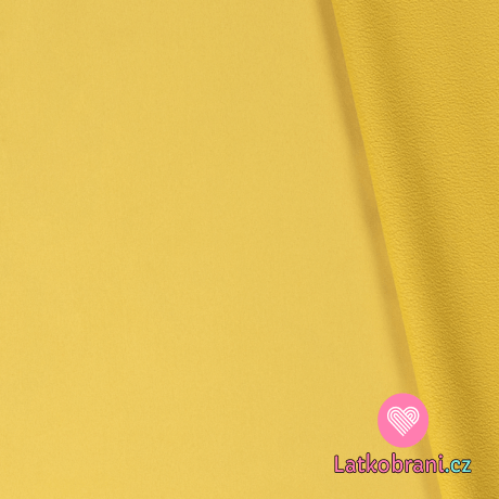 Softshell žlutý s fleecem