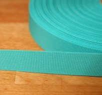 Pruženka barevná smaragd 25mm