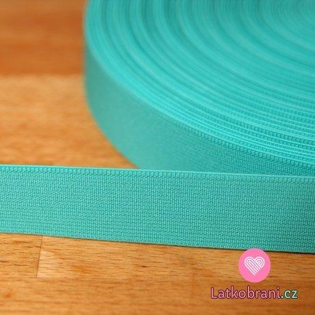 Pruženka barevná smaragd 25mm -ZBYTEK