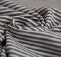 Úplet proužky tmavě šedý se světle šedou (malé) -ZBYTEK