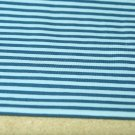 Úplet proužky stejné široké modré s modrou