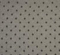 RIB / náplet s hvězdičkami šedá melé