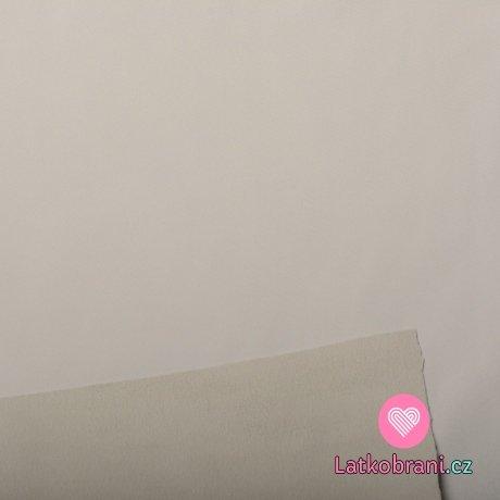 Softshell světle šedý s fleecem