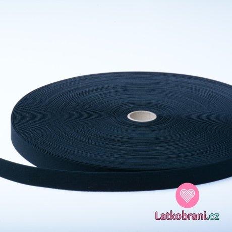 Pruženka černá plochá 25 mm