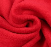 Polar fleece červený antipilling
