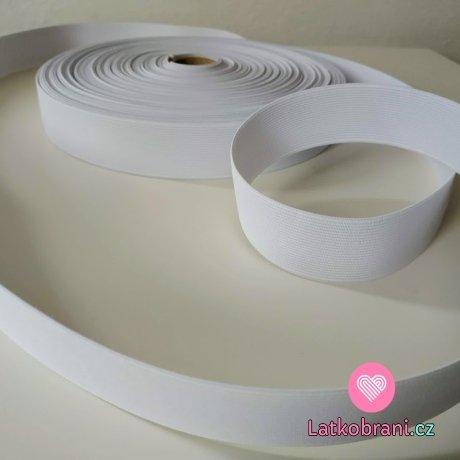 Pruženka bílá 30 mm