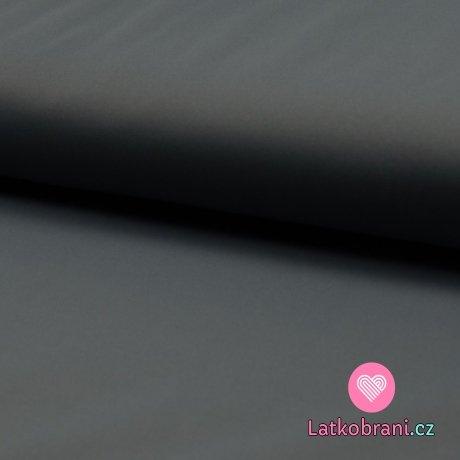 Softshell jednobarevný celoroční strečový šedý