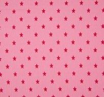 RIB / náplet s hvězdičkami růžová sytější