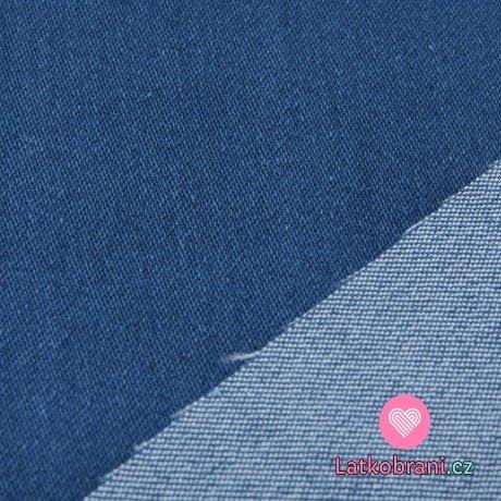 Jeans/Denim modrá světlejší