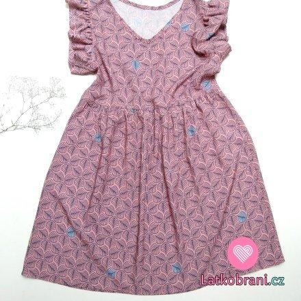 Dětské šaty z viskózy