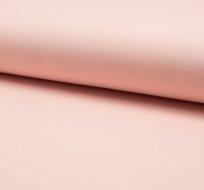 Jednobarevná teplákovina růžová světlá
