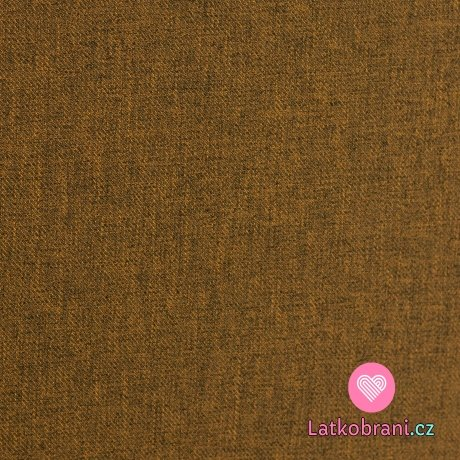 Softshell okrový melír s fleecem