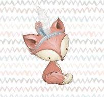 Panel lesní zvířátka liška