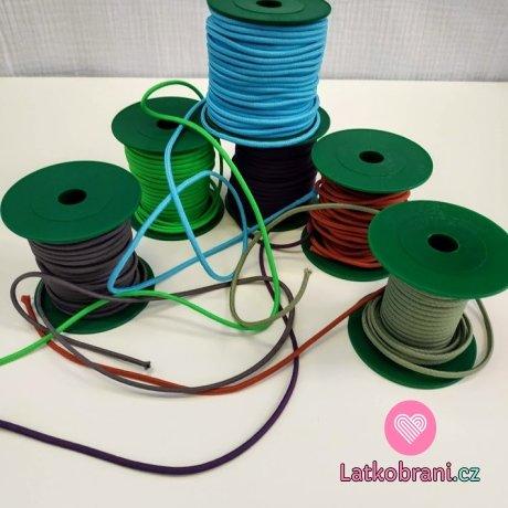 Pruženka kulatá 3 mm do neonově zelené
