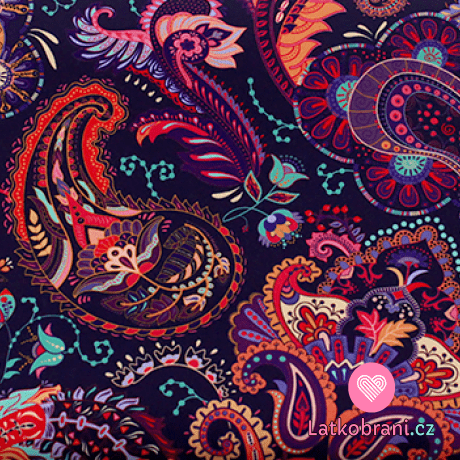 Softshell potisk mandaly v podzimních barvách