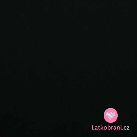 Softshell pružný černý s fleecem