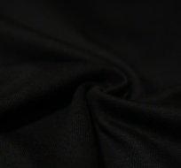 Jednobarevný úplet černý 200g