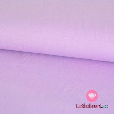 Úplet fialový levandule světlejší 210g -ZBYTEK