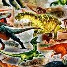 Úplet digitisk dinosauři