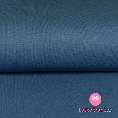 Náplet jednobarevný sytě modrý, BIO