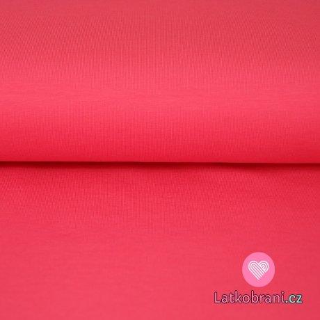 Jednobarevný úplet meruňkový výrazný
