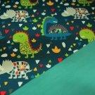 Softshell dinosaurus na petrolejové s fleecem