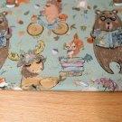Teplákovina ježek na kole, medvěd s knihou