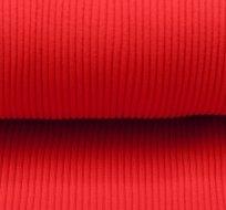 Náplet hrubé silné žebro 550g červený