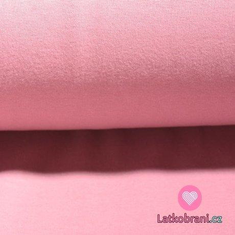 Náplet hladký světlinká růžová baby do studena