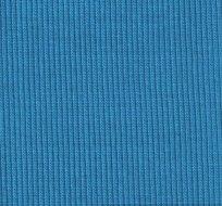 Náplet žebro tyrkys modré (tmavější)