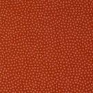 Balvlněné plátno drobné oranžové puntíky na cihlové