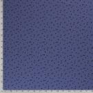 Úplet potisk drobné černé trojúhelníčky na modré