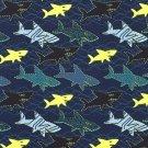 Úplet potisk žralok útočí na navy modré