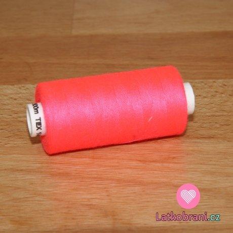 Nitě hagal - neon růžová 500 m (14x2)