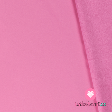 Softshell růžový světlejší s fleecem