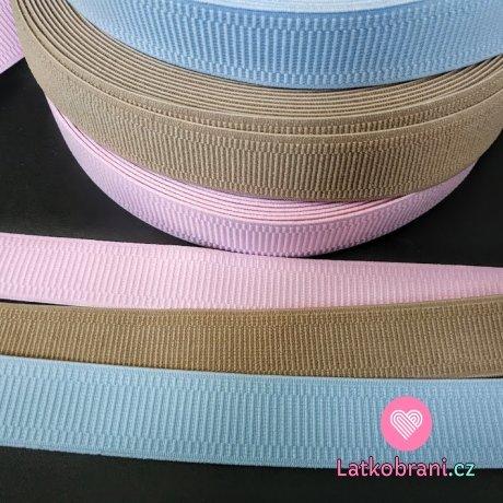 Pruženka prádlová bleděmodrá 30 mm