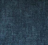 Teplákovina tmavě modrá navy, modře žíhaná Jeans Denim