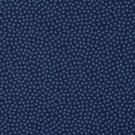 Bavlněné plátno drobné modré puntíky na námořnické modré